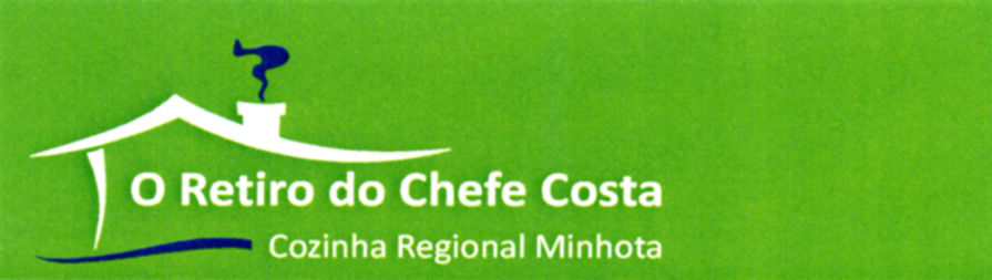banner do restaurante retiro chefe costa