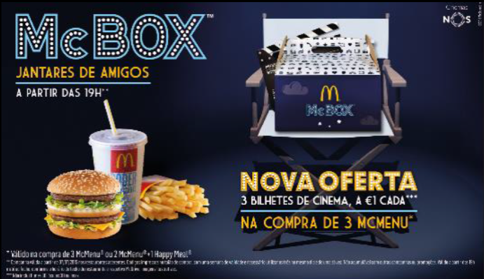 McBox Cinema - Jantar de Amigos